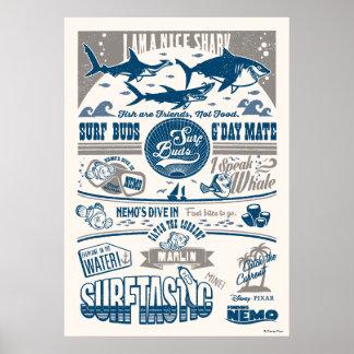 Finding Nemo | I Am A Nice Shark Poster