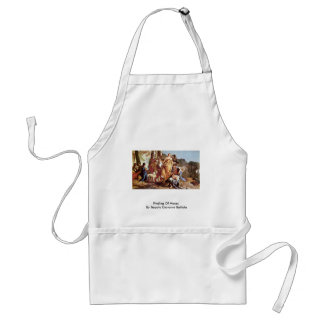 Finding Of Moses By Tiepolo Giovanni Battista Standard Apron