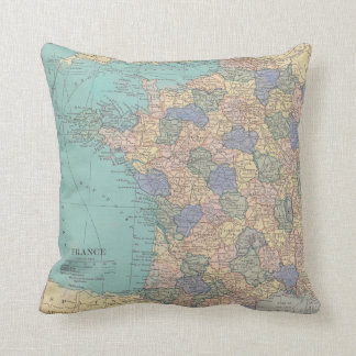 Finding Paris Together Throw Pillow