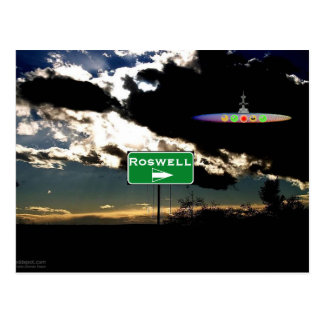Finding Roswell Postcard