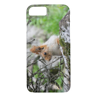Finding Squirrels in Kyrgyzstan: Cute Animal Photo iPhone 7 Case