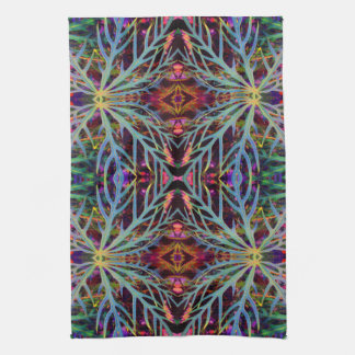 Finding the Colors Pattern Kitchen Towel