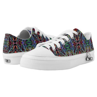 Finding the Colors Pattern Low-Top Sneakers