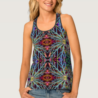 Finding the Colors Pattern Tank Top