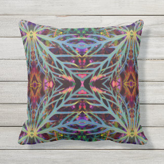 Finding the Colors Pattern Throw Pillow