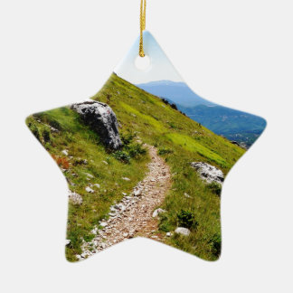 Finding your own Path Ceramic Ornament