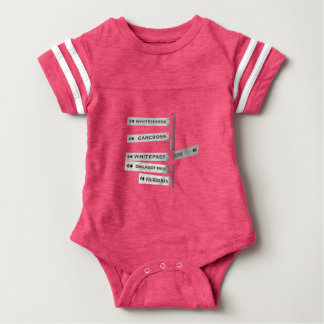 Finding your way in Alaska Baby Bodysuit