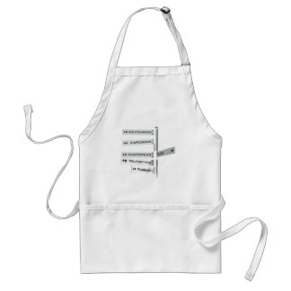 Finding your way in Alaska Standard Apron