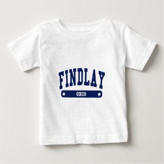 Findlay Ohio College Style tee shirts