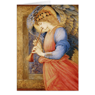 Fine Art Angel with Flute Note Card