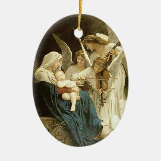 Fine Art angels ornament