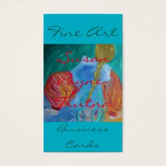 Fine Art Business Cards:Susan Payne-Trutna Business Card