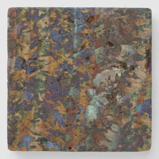 Fine Art Leaves Stone Coaster
