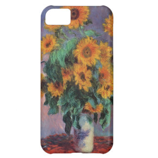 Fine Art Monet Sunflowers Cover For iPhone 5C