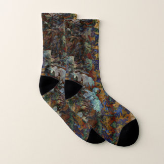Fine Art of Leaves Socks 1