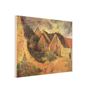 Fine Art Osny Stormy Weather by Paul Gauguin Canvas Print