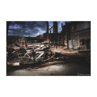Fine Art Photography Print - 'Burnt Bike' Canvas Prints