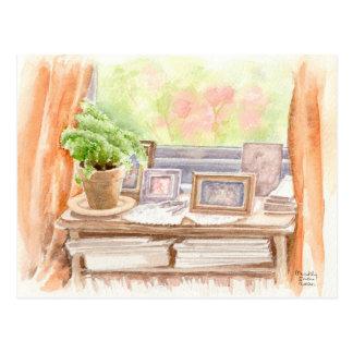 """Fine Art Postcard- """"Pictures"""", watercolour Postcard"""