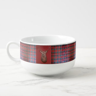 Fine Art red Deer Stag Soup Mug