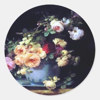 Fine Art Roses Sticker