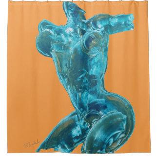 "Fine Art Shower-Curtain - ""Freestyling"""
