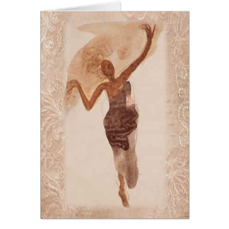 Fine Art ~ The Dancer c1906 Card