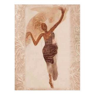 Fine Art ~ The Dancer c1906 Postcard