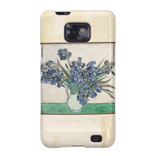 Fine Art Van Gogh Irises Samsung Galaxy S2 Case