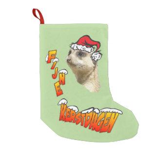Fine Christmas days Stokstaartje Christmas sock