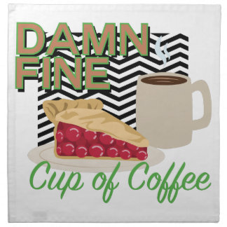 Fine Coffee & Pie Napkin