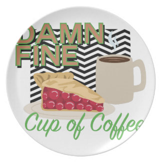 Fine Coffee & Pie Plate