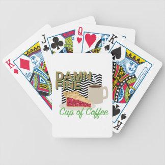 Fine Coffee & Pie Poker Deck