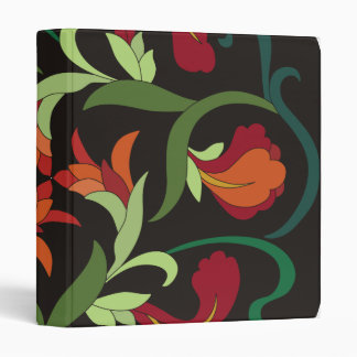 Fine Cool Cute Girly Retro Floral Fashion Binders