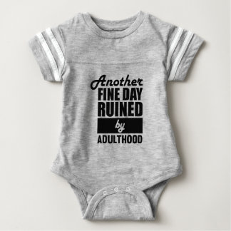Fine Day Ruined Baby Bodysuit
