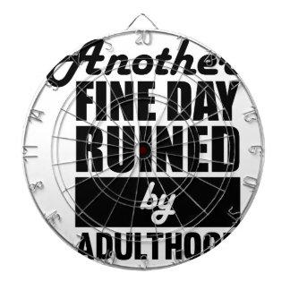 Fine Day Ruined Dartboard