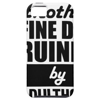 Fine Day Ruined iPhone 5 Cover