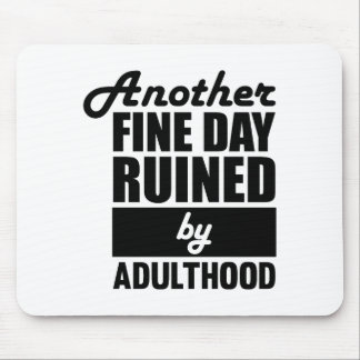 Fine Day Ruined Mouse Pad