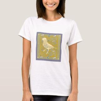 Fine Finch yellow : fine art graphic design T-Shirt