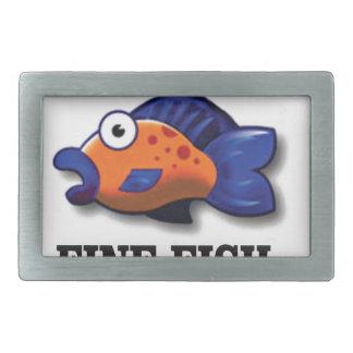 fine fish yeah belt buckles