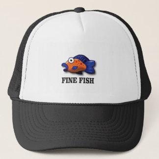 fine fish yeah trucker hat