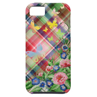 Fine flowers and Butterflies Case For The iPhone 5