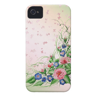 Fine flowers iPhone 4 Case-Mate cases