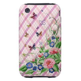 Fine flowers tough iPhone 3 covers