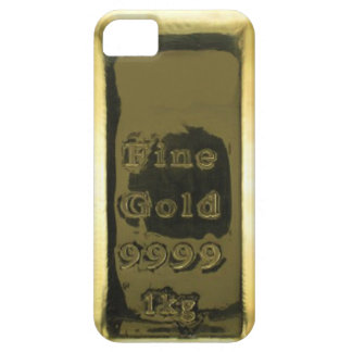 Fine Gold 9999 Gold Bar iPhone 5 Case