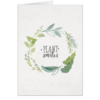 Fine Herbs II | Plant Smiles Card