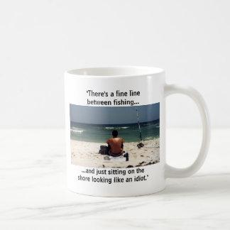 Fine Line Fishing Mug