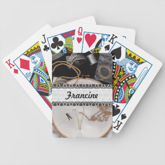 Fine Needlework Bicycle Playing Cards