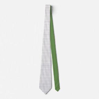 Fine stripes tie
