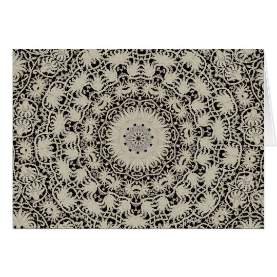 Fine Victorian Lace Card