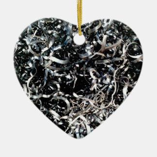 fine wires filing ceramic ornament